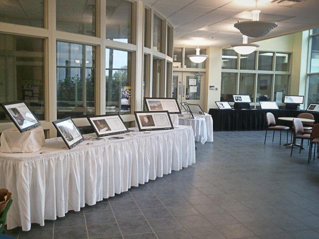 Nova Scotia Community College host the Collateral Damage (interim) exhibit
