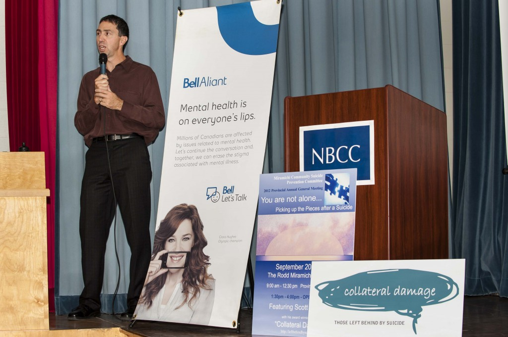 Speaking at New Brunswick Community College