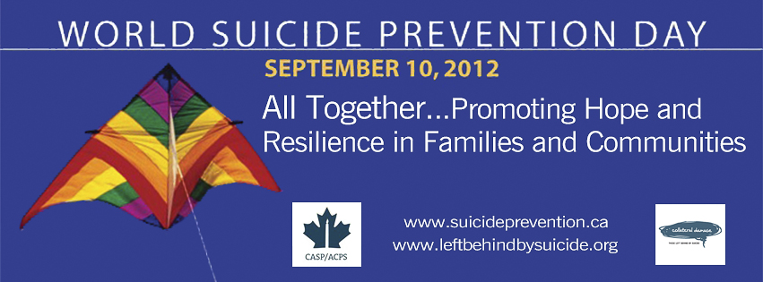 2012 World Suicide Prevention Day