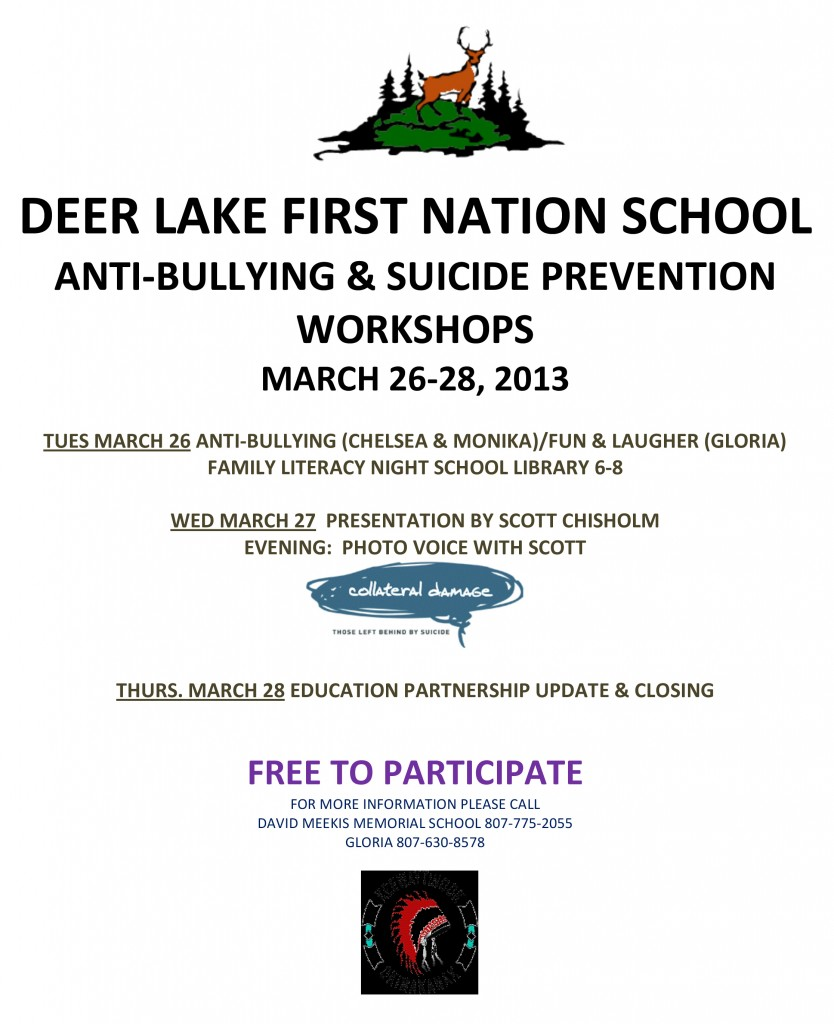 Deer Lake Anti-Bullying and Suicide Prevention