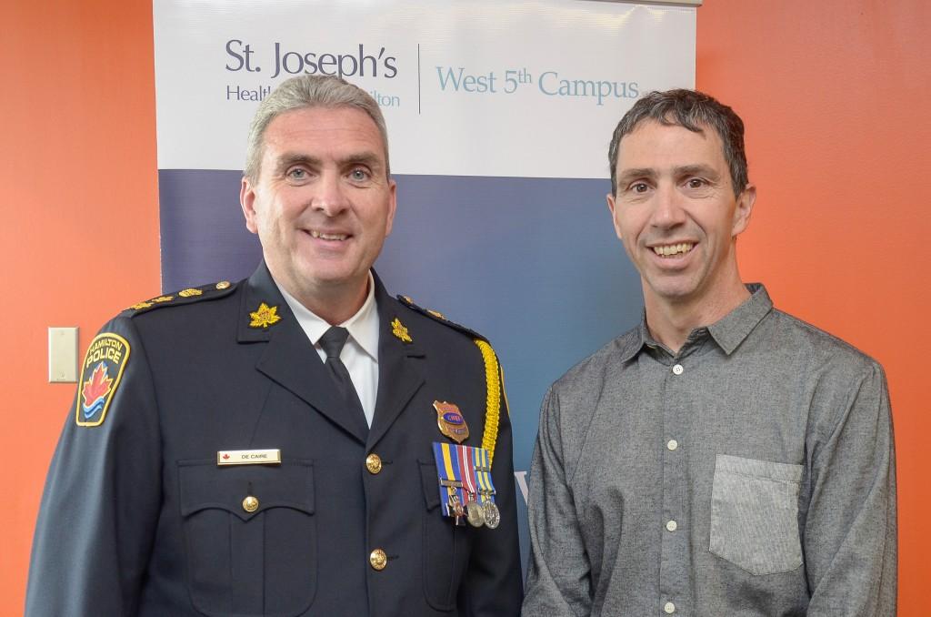 Hamilton Police Chief Glenn De Caire